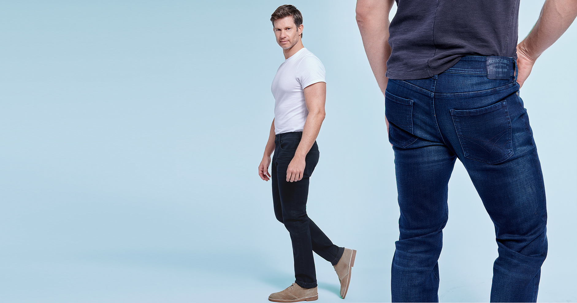 New Flex Denim: Jeans with signature stretch keep you looking * feeling good from dawn to dusk