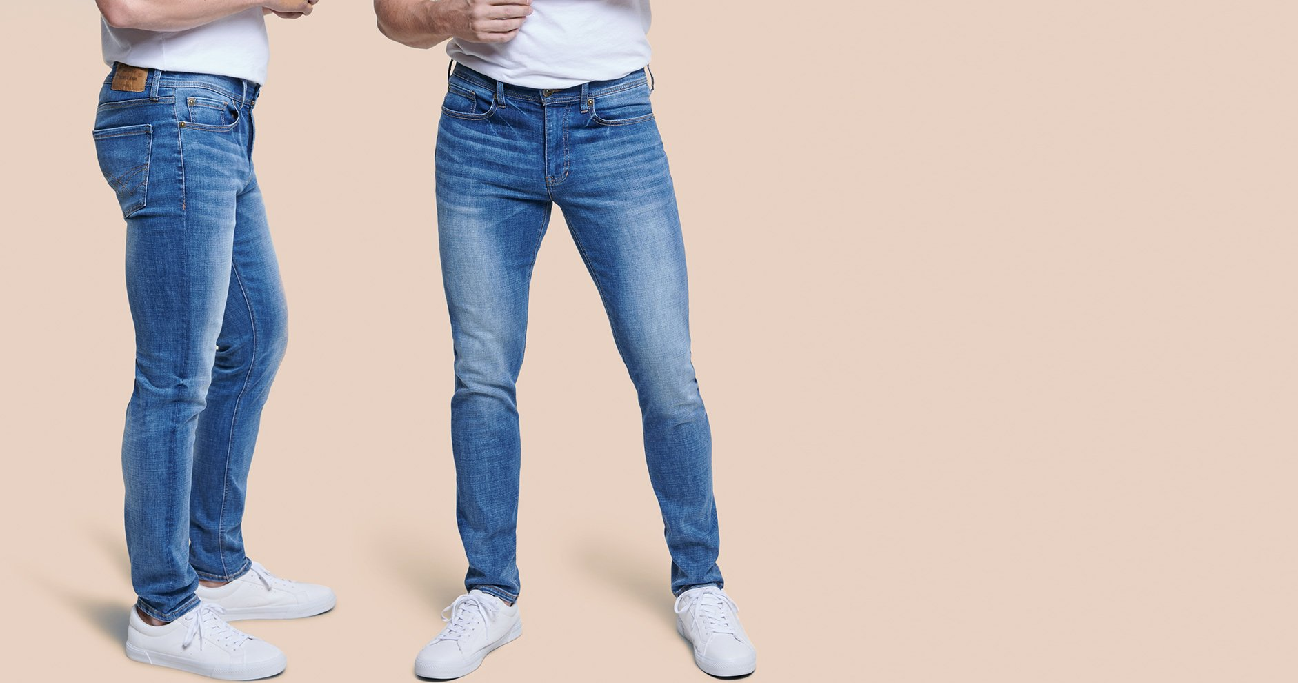 Aiming for a classic look? Straight-fit jeans are your style solution