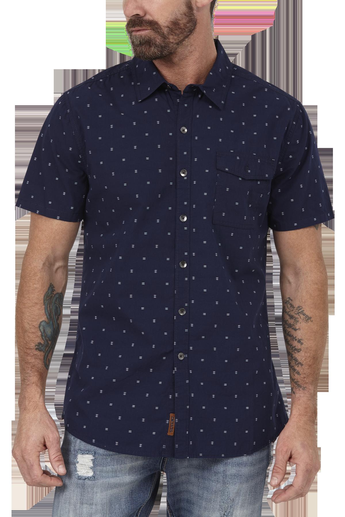 seven7 jeans dot shirt