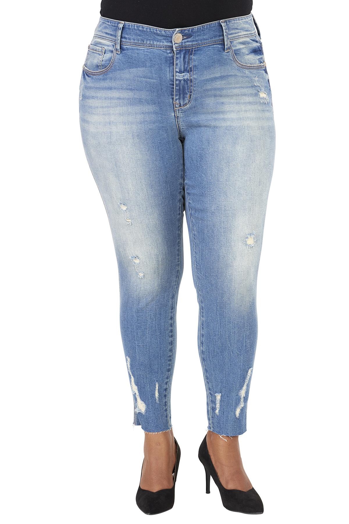 Seven7 Jeans Raw Hem Legging