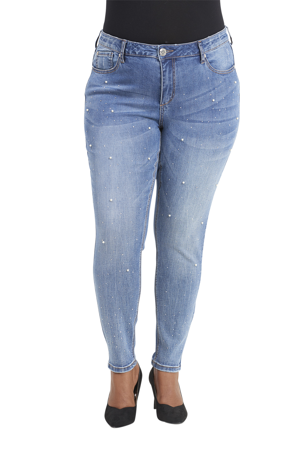 Seven7 Jeans Embellished Leggings