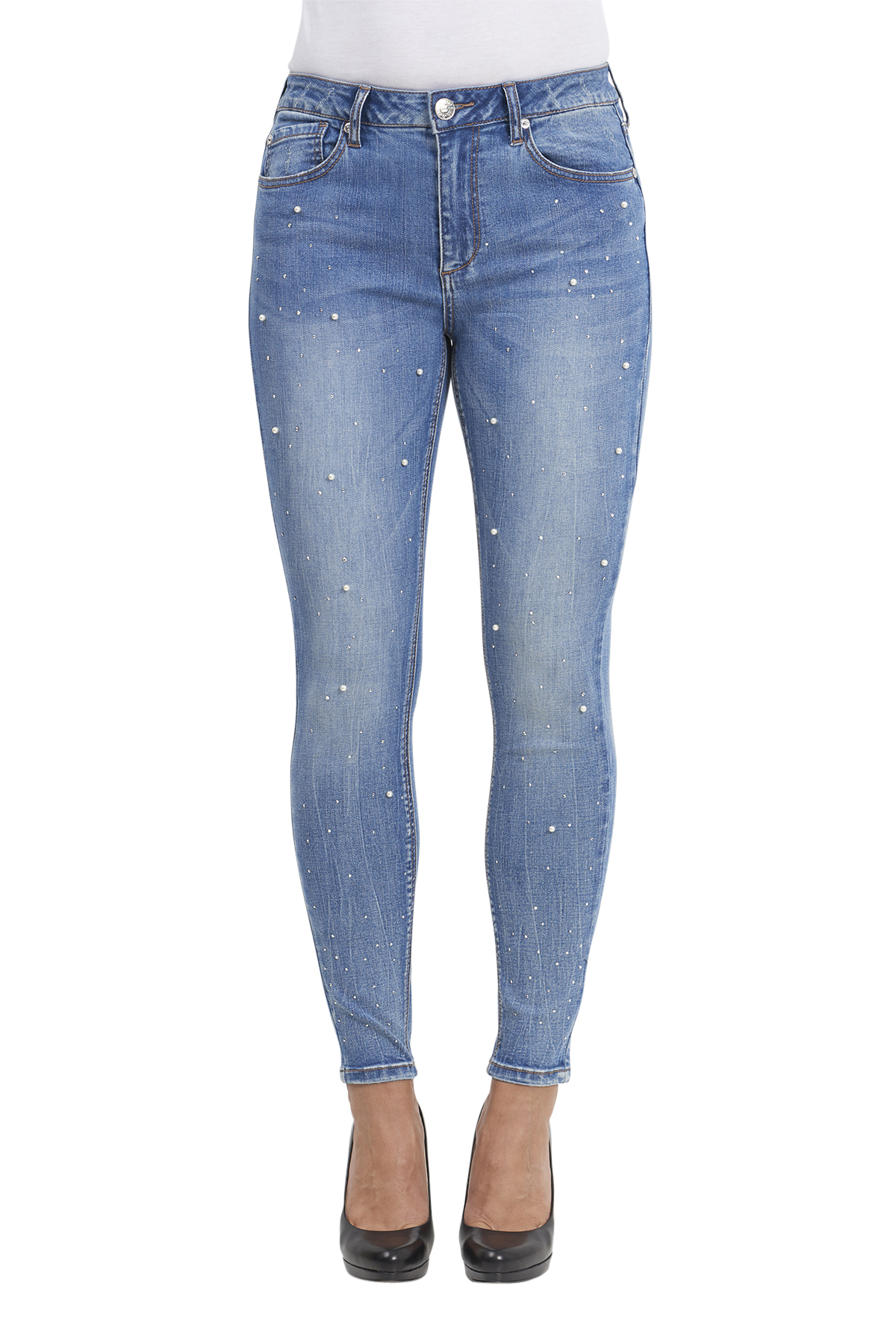 Seven7 Jeans Legging with Pearls
