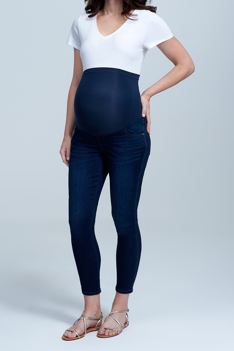 207cc27a325be Full Panel Ankle Skinny Maternity Jean at Seven7 Jeans