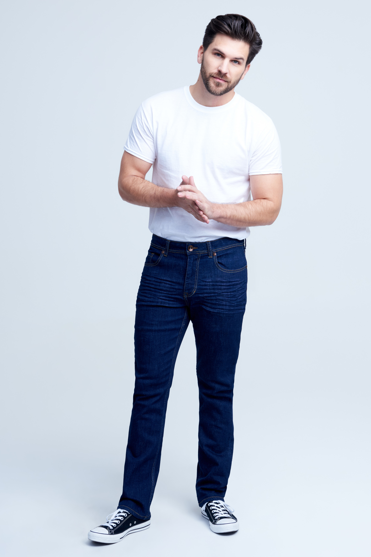 Seven7 Jeans Premium Flex Slim Straight Fit Jean